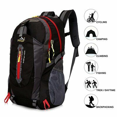 Light 40L Camping Hiking Backpack Outdoor Travel Sports Climbing Bag Rucksack
