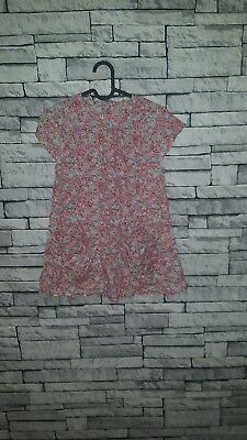 Age 11 - 12 Year Old Girls Little Joule Joules Pink Cute Ditsy Smock Party Dress