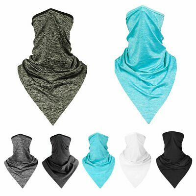 Half Face Mask Scarf Motorcycle Cycling Riding Sun UV Protection Neck Cover CU