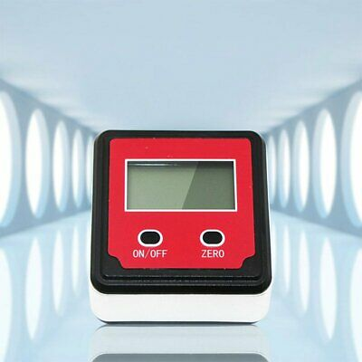 LCD Digital Inclinometer Level Box Protractor Angle Finder Gauge Meter Bevel CU