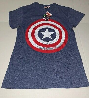 Brand New- Marvel's Avengers Captain America Slim Stretch Shirt Mens (Size XS)