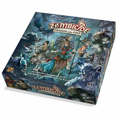Zombicide Green Horde & Black Plague Friends and Foes Espansione NUOVO ITALIANO