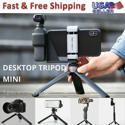 PGYTECH Mini Desktop Tripod Holder Bracket Mount For DJI OSMO Pocket Handheld US
