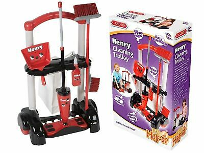 Henry Cleaning Trolley Vacuum Cleaner Hoover Casdon Kids Fun Role Play Toy UK