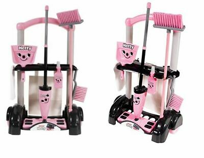 Hetty Cleaning Trolley Vacuum Cleaner Hoover Casdon Kids Fun Role Play Toy UK