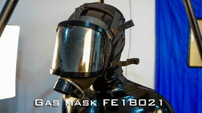 Platex Latex Rubber Gummi Gas Mask NEW RRP £150