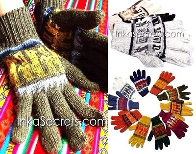 50 Alpaca Gloves w/ Ethnic Designs
