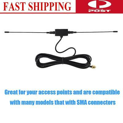 3m/118in Antenna 433MHZ GPRS GSM SMA male plug horn patch  Signal Amplifier New