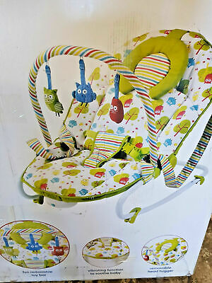 mothercare 2 in 1 owl bouncer (no electric unit)