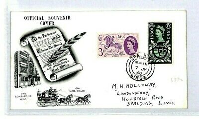 GB GLO Official FDC 1960 First Day Cover GENERAL LETTER OFFICE {samwells} CT34