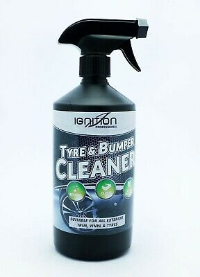 ** Ignition Tyre & Bumper Cleaner 750Ml New ** For Trim Vinyl & Tyres Car Care