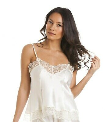 Sulis Silk Helena pure silk lace slip chemise bridal made in Britain