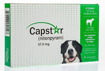 Capstar for Dogs, over 25 lbs, 6 ct