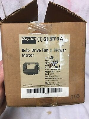 DAYTON BELT DRIVE Fan & Blower Motor 3K771 - $45.00 | PicClick on