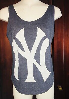 9d580b1cbb6023 MLB NEW YORK Yankees Womens Tank Top Size Small NYY Bronx Bombers ...