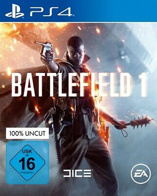 PS4 / Sony Playstation 4 game - Battlefield 1 EN/GER boxed