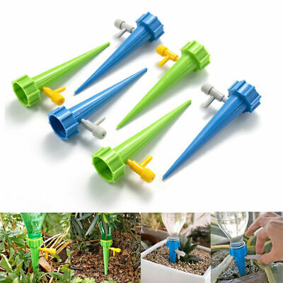Plant Self Automatic Watering Spikes Adjustable Stakes Irrigation System Tool