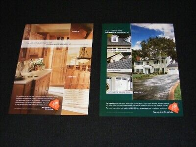 HOME DEPOT magazine clippings ads from 2004