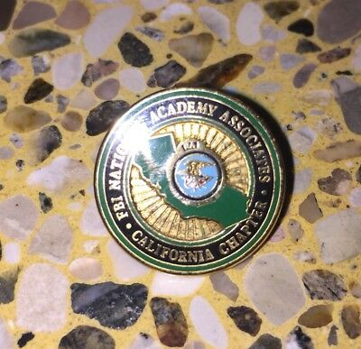 FBI National Academy California  Chapter Pin