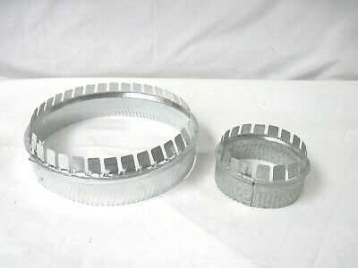 "Start Collars Crimped 30 Gauge Round Duct Fittings 10"" & 5"""