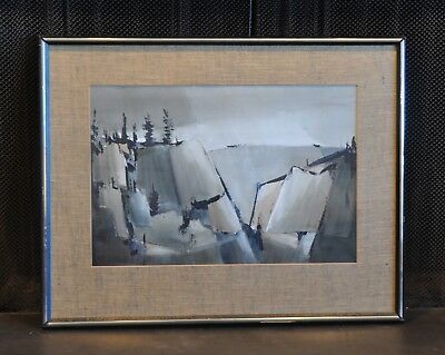 Lewis Scott Croft - Watercolor Coastal Landscape Painting - Nova Scotia Canada