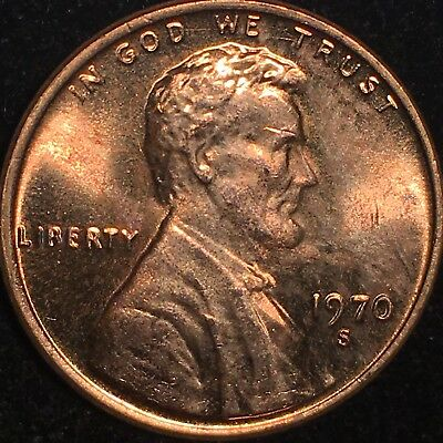 1970 S Lincoln Cent Double Die Obverse Ddo Gem Red Gorgeous *Extremely Rare Ddo!