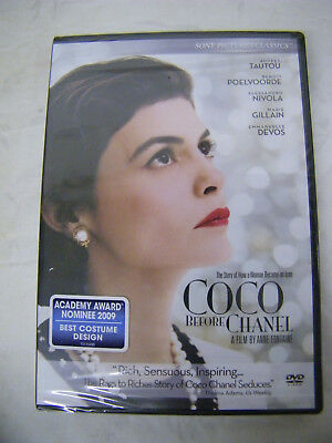 COCO BEFORE CHANEL DVD New Sealed