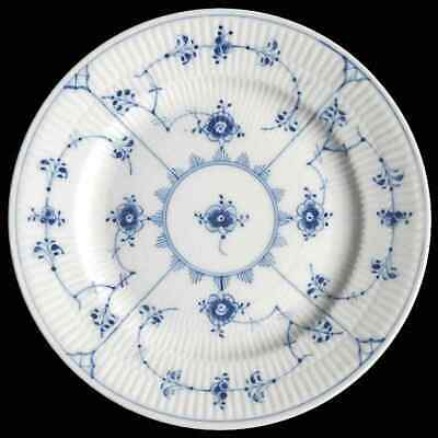 Royal Copenhagen BLUE FLUTED PLAIN Dessert Pie Plate 6766609