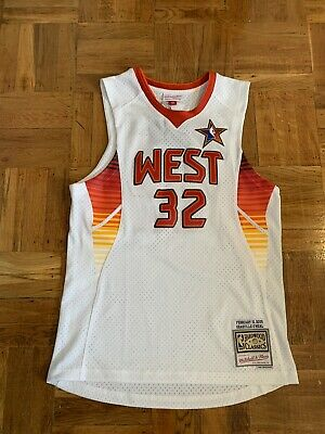 e9bbd2615a48 Authentic Shaquille O Neal 09 All Star Jersey Mitchell And Ness Jersey  Swingman