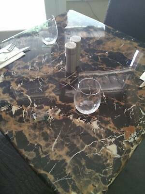 cafe tables, marble patteren, 700x700, and 1200 x 700 great condition