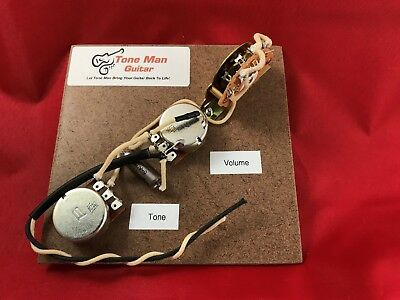 The Blues 60's Telecaster Prewired Vintage Wiring Kit For Fender Tele