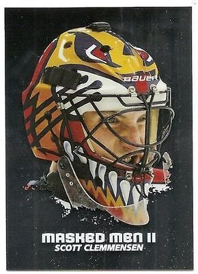 09/10 BETWEEN THE PIPES MASKED MEN II Hockey (#MM1-MM50) U-Pick from List