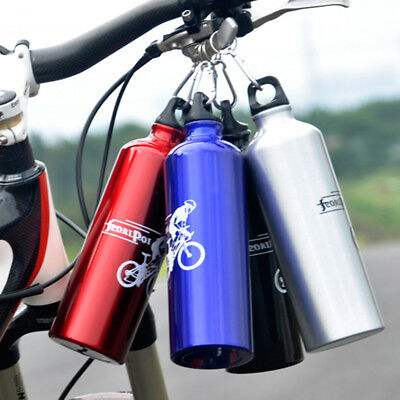 Cycling Drink Bottle+Cage Holder Bracket 750ML Bicycle Professional DrinkEquips