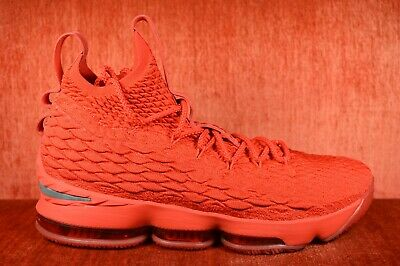011fb014b6a WORN ONCE Lebron 15 Ohio State Size 11.5 PE Sample All Red Nike Player  Edition