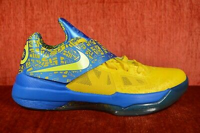 1dc297eb43a WORN ONCE 2012 Nike Zoom KD IV 4 Scoring Title KEVIN DURANT 473679 703 Size  8