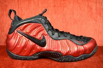 save off 4ab26 4ef69 WORN TWICE Nike Air Foamposite One Pro Size 9.5 University Red Black 624041  604