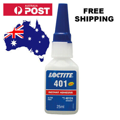 Loctite 401-25ml Instant Adhesive, Industrial Strength, Ultra Fast Super Glue