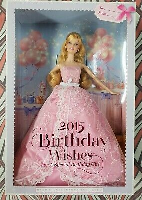 2015 Barbie Collector Birthday Wishes