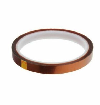 10mm 100ft Kapton Tape BGA Heat Resistant High Temperature Polyimide Gold NEW CL