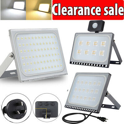 10W- 500W LED Flood Light Outdoor Garden Floodlights Security Lamp IP65 240V