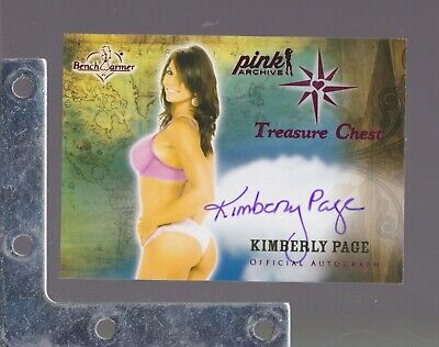 2014 Benchwarmer TREASURE CHEST Autograph//Signature SP PICK FROM LIST PLAYBOY