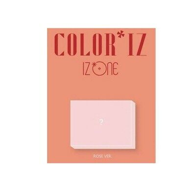 IZONE - [ColorIz] 1st Mini Album Rose VER CD K-POP Sealed