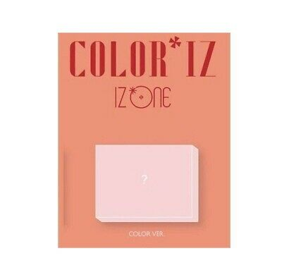 IZONE - [ColorIz] 1st Mini Album Random CD K-POP Sealed