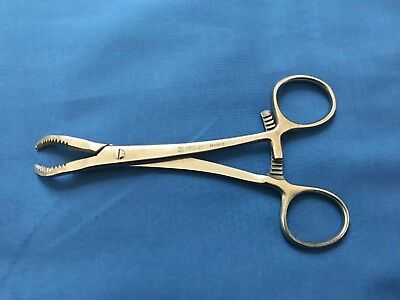 4816-07 ~Zimmer Surgical 6-3/4in Serrated Reduction Forceps Orthopedic