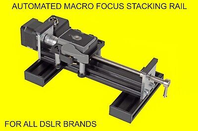 SONY macro automated focus stacking rail