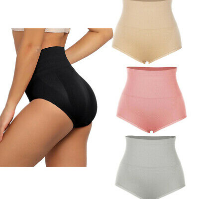 Women High Waist Tummy Briefs Shapewear Control Slim Body Shaper Panty Underwear