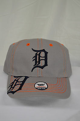 75d761a6d NEW Detroit Tigers Baseball Hat MLB Fan Favorite Cap Adjustable Memorabilia  Grey