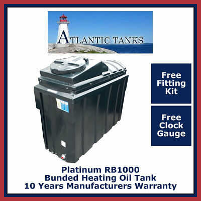 1000ltrs Rectangular Platinum Bunded Domestic Heating Oil Storage Tank