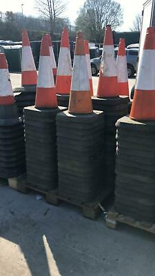 Road Traffic Cones Full Size Red&white 750mm