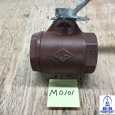 "Threaded Ball Valve 2"" 3000 WOG Full Port KF (Circor) Fig: 3004-21911"